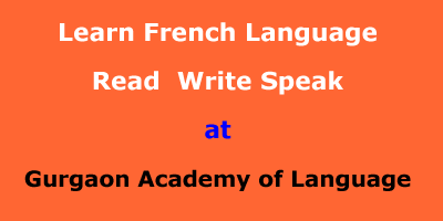 Learn French Language at Gurgaon