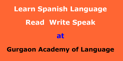 Learn Spanish Language at Gurgaon