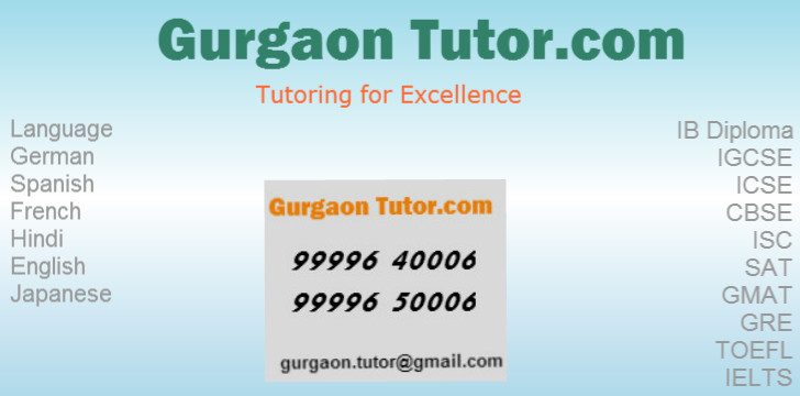 To arrange tutoring session with our IB Tutor, contact us: