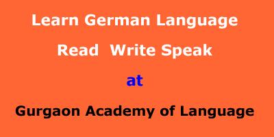 Learn German Language at Gurgaon