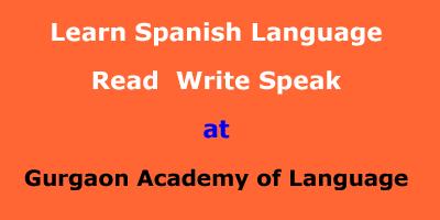 Learn Spanish Language at Gurgaon