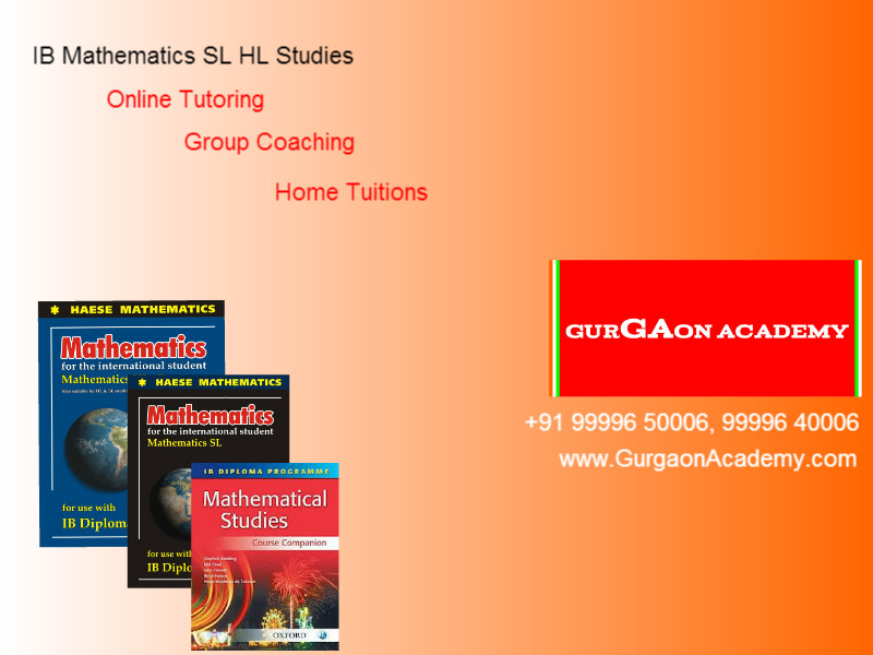Join online revision classes for IB Diploma Course Maths HL SL India New Delhi
