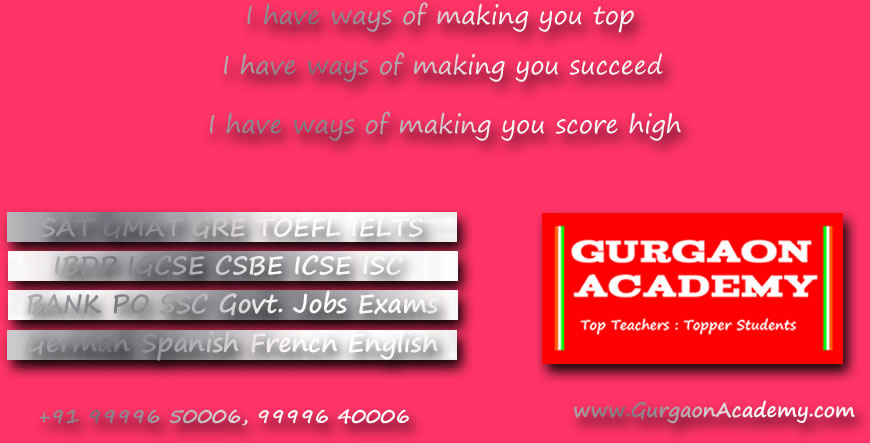 Top Famous Trusted Popular coaching Institute for SSC Bank PO Clerical Govt Jobs Exams Preparation in Delhi Gurgaon India