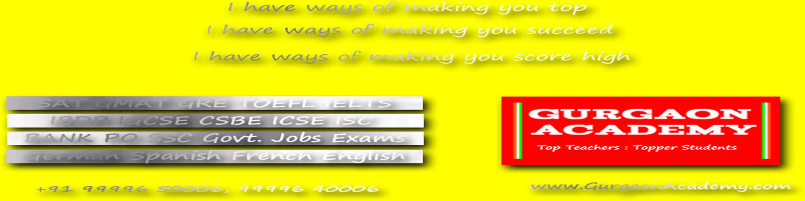 IB DP Course coaching institute learning centre teaching academy tutorial in Gurgaon