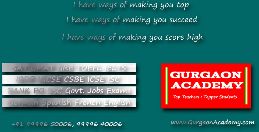 Private Coaching Gurgaon(99996 50006):Class 6th 7th 8th 9th 10th 11th 12th Students for Maths Physics
