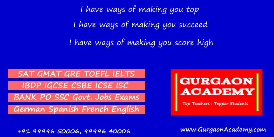 Gurgaon Academy(99996 50006)Language Centre:Learn Read Write Speak French German Spanish Hindi English in Gurgaon