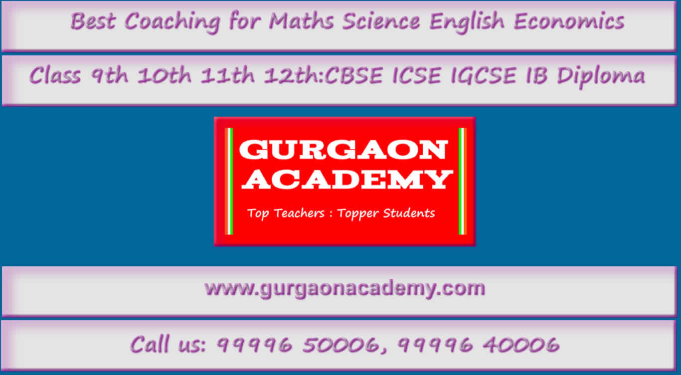 JOIN MATHS COACHING GURGAON SCIENCE ACADEMY GURGAON NIRVANA