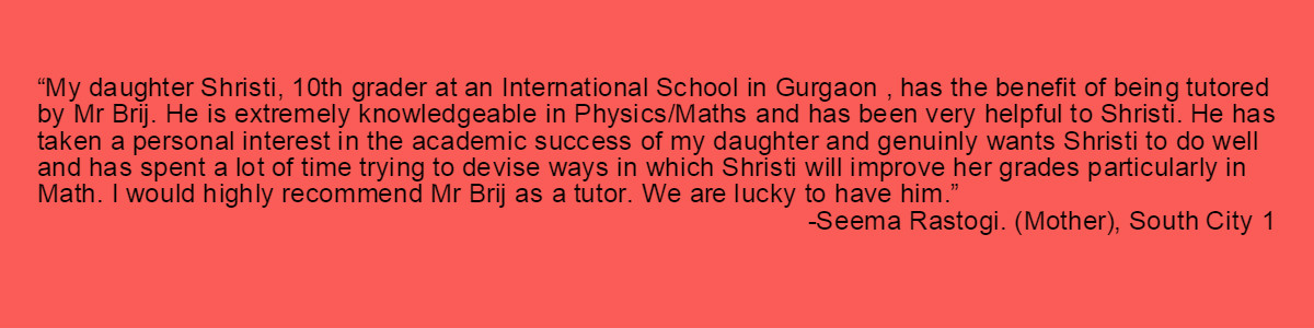 Testimonial-Gurgaon Academy Coaching Institute-Seema Rastogi South City 1
