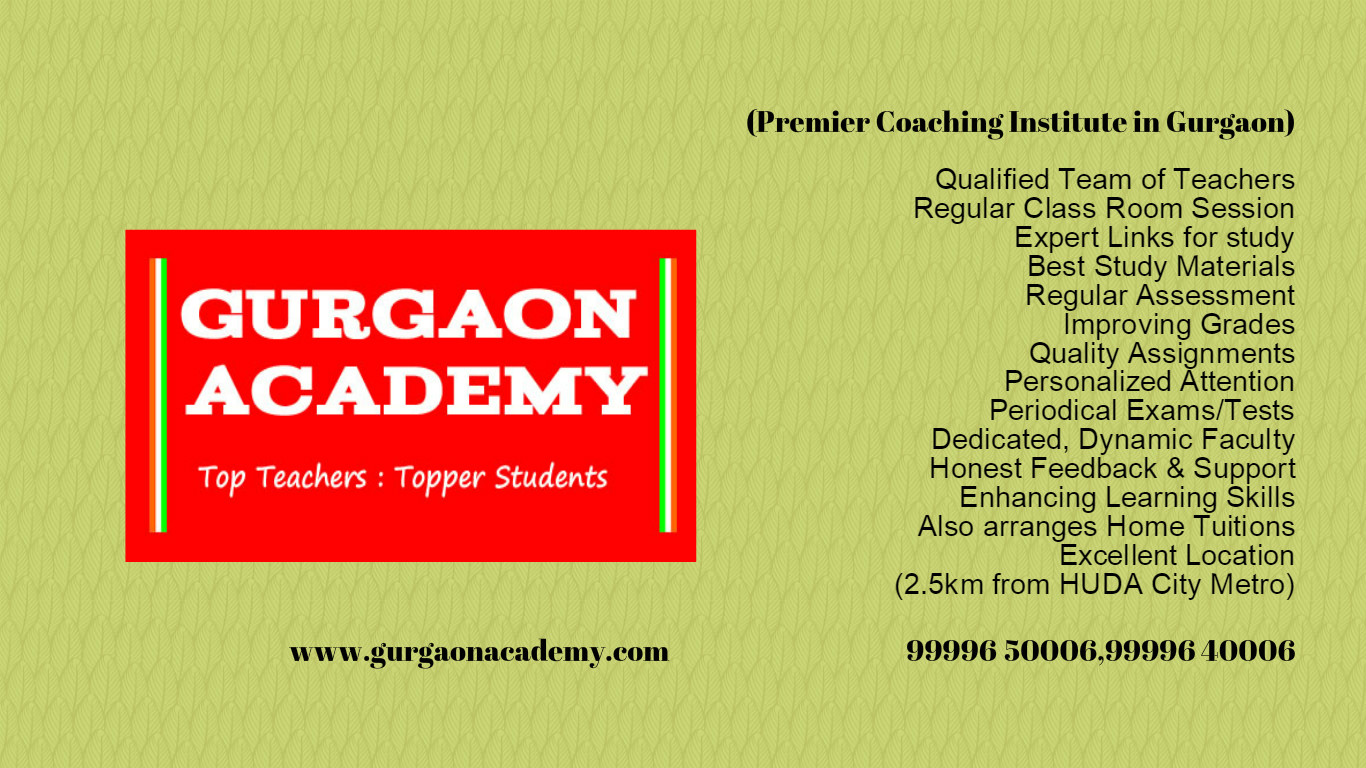 Most Popular Famous Top Rated Institute(99996 50006):Coaching Centre Tutorial Academy in Gurgaon