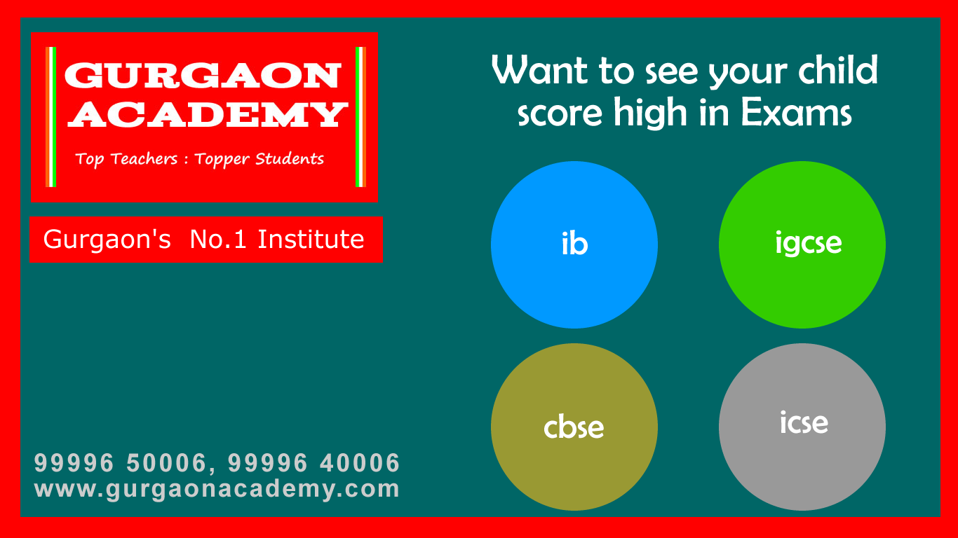 IB Diploma Private Coaching Institute(99996 50006):IB Subjects Tutor Tuition Teacher Tutorials Learning Centre Gurgaon