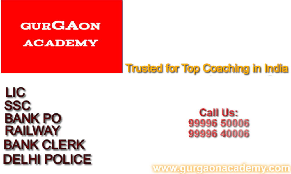 Gurgaon New Delhi Famous Coaching Centre Institute for SSC CGL BANK PO Exams