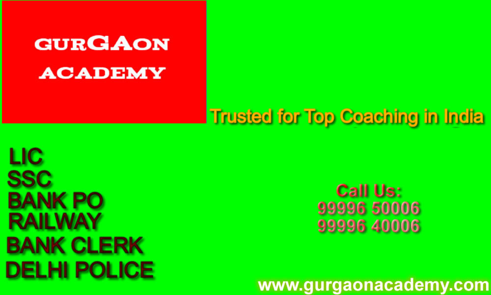 Bank PO SSC CGL Coaching Institute Academy Centre in Gurgaon
