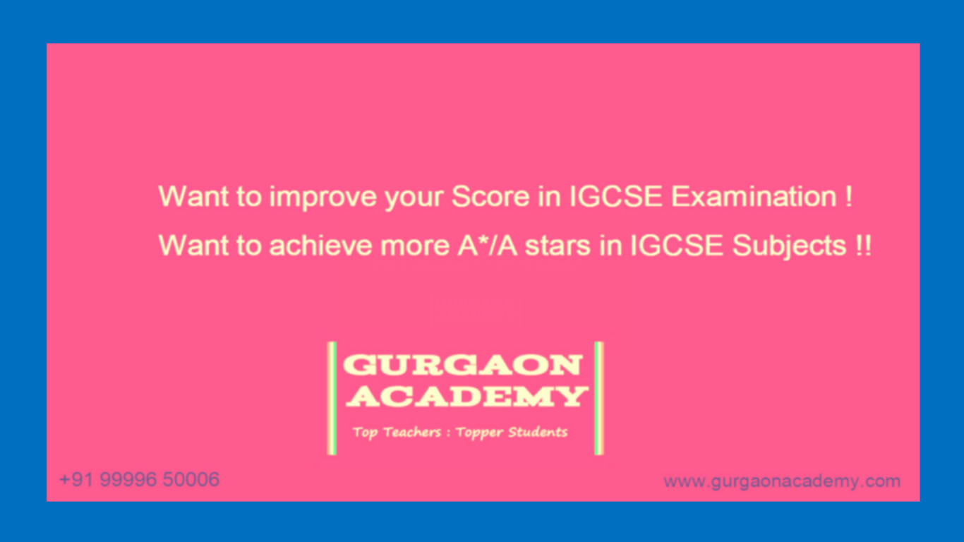 Private Coaching Institute IB Diploma(99996 50006):Study Centre Tutoring Tuition Teacher Class for IB MYP PYP IGCSE A/O Level Subjects in Gurgaon